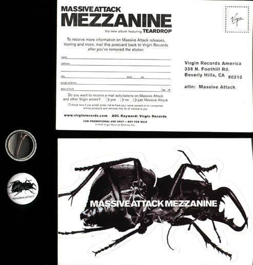 Mezzanine Postcard + Badge
